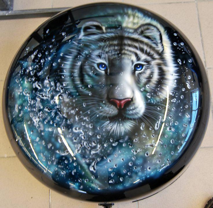 Tiger by chebot.deviantart.com on @DeviantArt