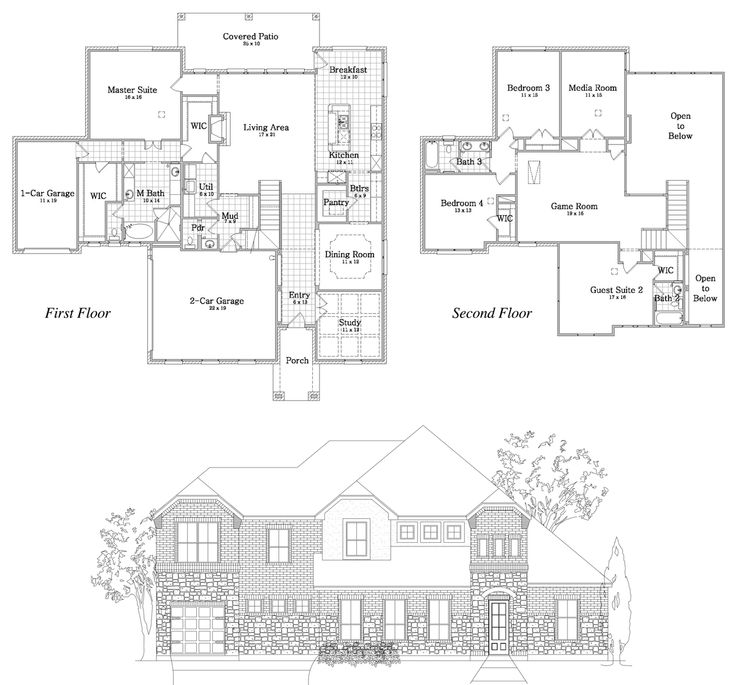 Award Winning Texas House Plans: 1000+ Images About I