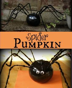 Spider Pumpkin - Here Come the Girls