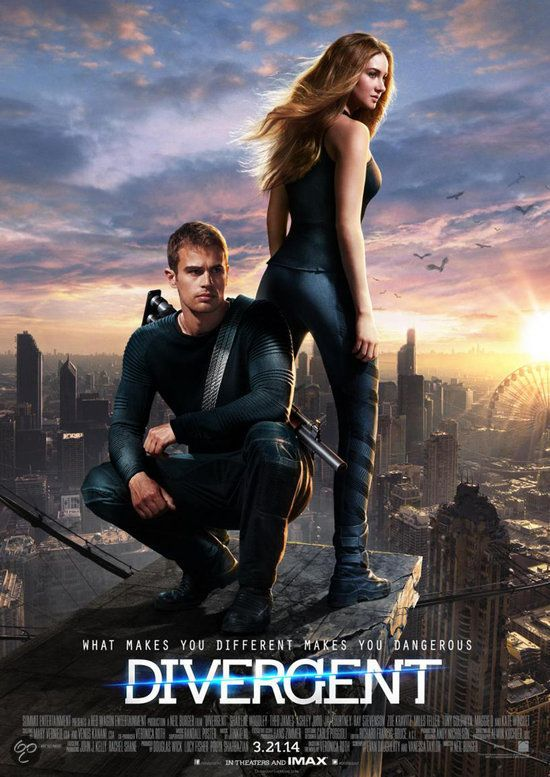 Divergent I HAVE THIS POSTER