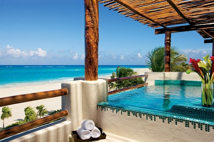 Secrets Maroma Beach in the Mayan Riveria...also on our list!
