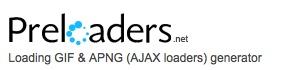Loading GIF & APNG (AJAX loaders) generator