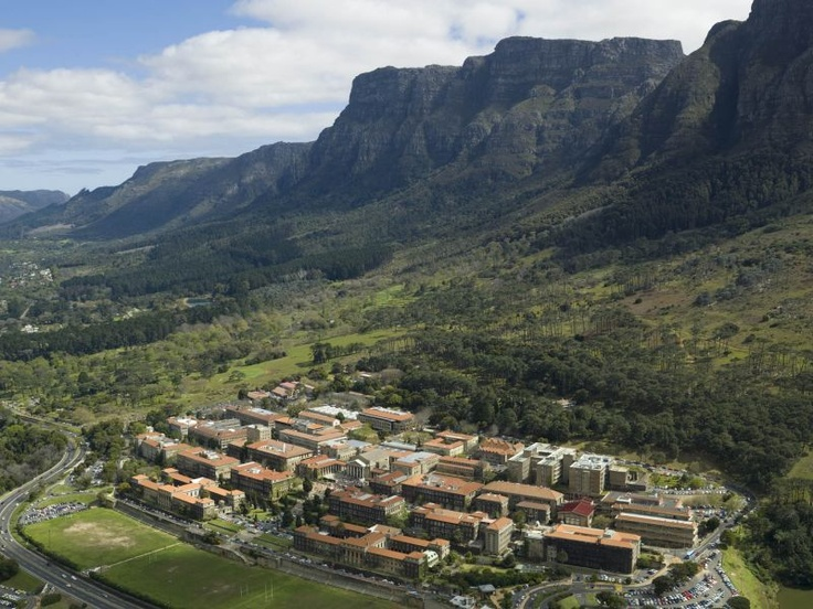 University of Cape Town– on the slopes of Table Mountain