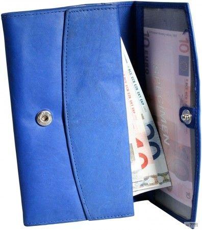 Excellanc Női pénztárca  Rindbőr. Format 16 x 9 cm.