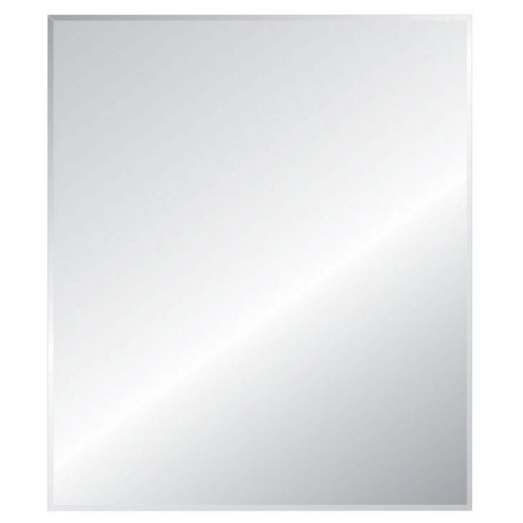 Shop Style Selections  Silver Beveled Rectangle Frameless Traditional Wall Mirror at Lowe's Canada. Find our selection of wall mirrors at the lowest price guaranteed with price match + 10% off.