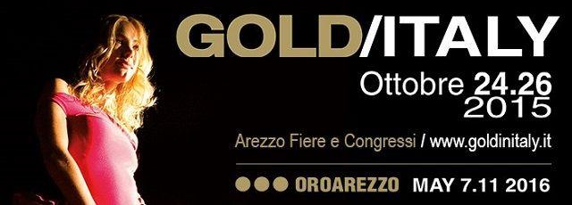 GOLD/ITALY - 24/26 ottobre, Arezzo. Tre giornate eccezionali e intense di business, ricche di eventi ed interamente dedicate ai gioielli disegnati e realizzati dalle migliori aziende italiane del settore. #madeinitaly #artigianato #jewelry #gioiello