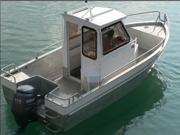 20ft small aluminum commercial fishing boat for sale