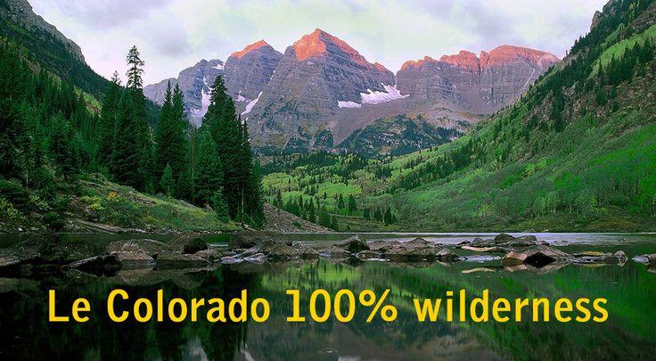 Des vastes prairies aux majestueuses Montagnes Rocheuses, des rivières torrentielles aux paysages désertiques, l'État le plus élevé des Etats-Unis m'a fait rêver : ici se joue la partition de la fameusewilderness, la nature sauvage.Présente dans ces collections de livres qu'on dévore comme les torrents dévalent… Voici mon Colorado wilderness.  El Colorado L'Etat compte 53 …
