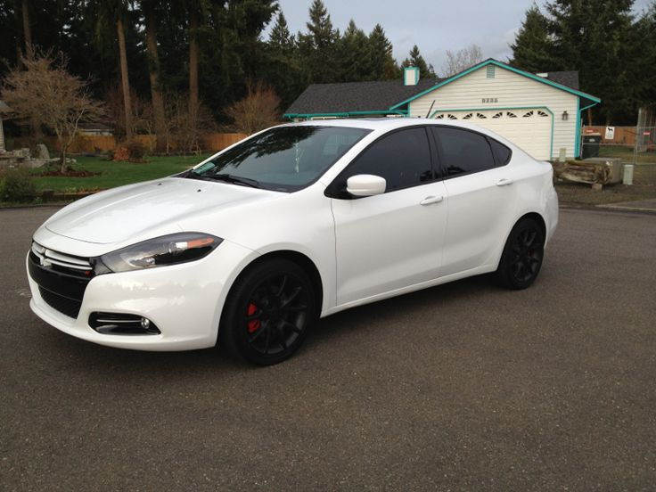 2014 Dodge Dart Black Rims White Find the Classic Rims of Your Dreams - www.allcarwheels.com