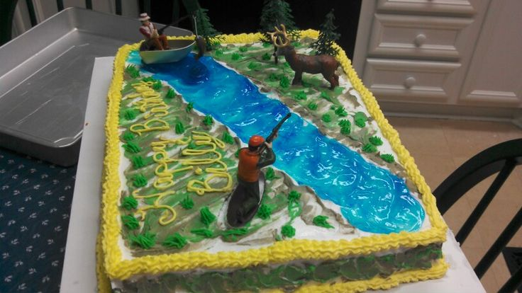 Fishing Birthday Cakes Images