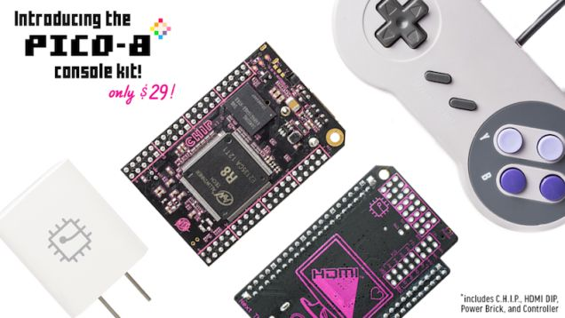 The C.H.I.P. Gets Game Design Software PICO-8 for Free Introduces the $29 Game Making Console Kit