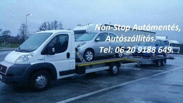 Non-Stop Autómentés, autószállítás, Dunakeszi [Pepita Hirdető]
