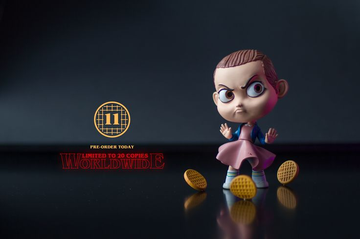 Stranger Things Eleven Toy Handcrafted Art Toy