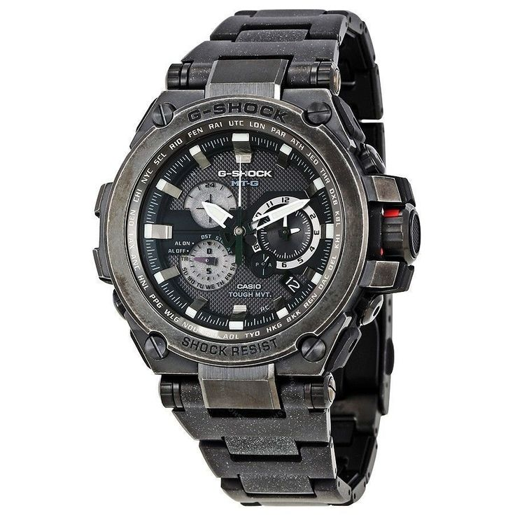 Casio Mens G-Shock MT-G Series Tough Solar Powered Analog Steel MTGS1000V-1A