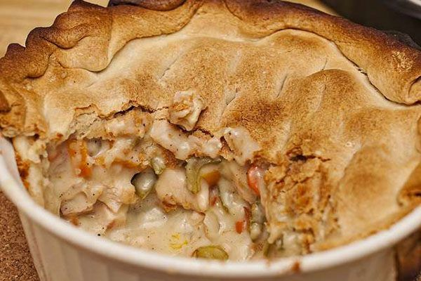 How to Reheat Chicken Pot Pie So It's Piping Hot