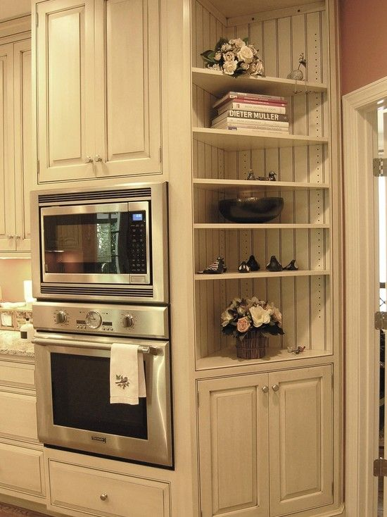 Kitchen Beadboard Design, Pictures, Remodel, Decor and Ideas - page 69  SHELVES MICRO CORNER