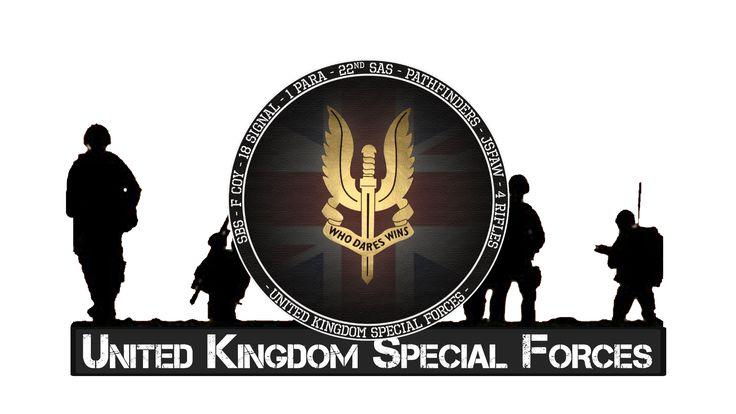 Special Forces - SAS (Special Air Service) Regiment.    http://eliteukforces.info/special-air-service/ and/or http://sasregiment.org.uk/ and/or http://marsandminerva.co.uk/ and/or http://army.mod.uk/specialforces/30603.aspx
