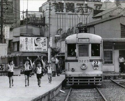 LOVE my Tokyo. 昭和42年・三ノ輪橋, 荒川区, Tokyo