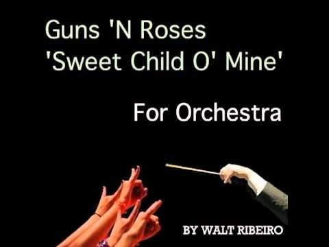 Guns N Roses Sweet Child O Mine For Orchestra Processional SongsWedding ProcessionalInstrumentalOrchestraItunesDream Wedding