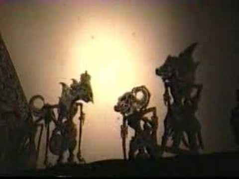 Indonesian Shadow Puppet Show