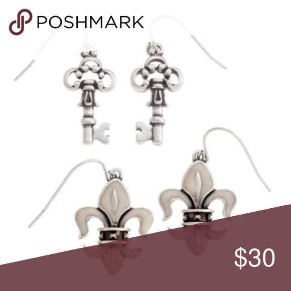 Grace Adele BOELYN Stone Drop Earrings Elegant set of earrings Grace Adele Jewelry Earrings