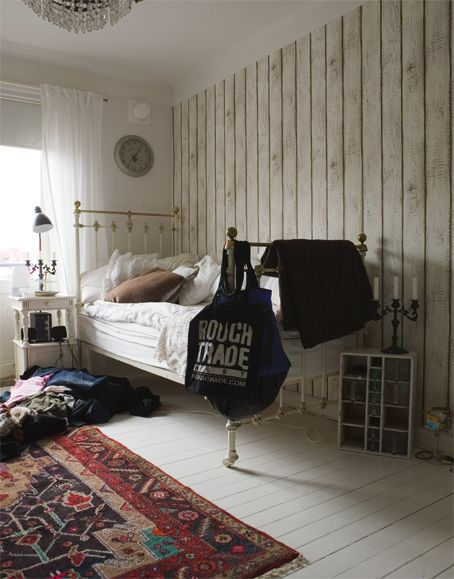 Beautiful Bedroom: Originally From Fine. Find This Pin And More On Wallpaper  Accent Wall ... Part 85