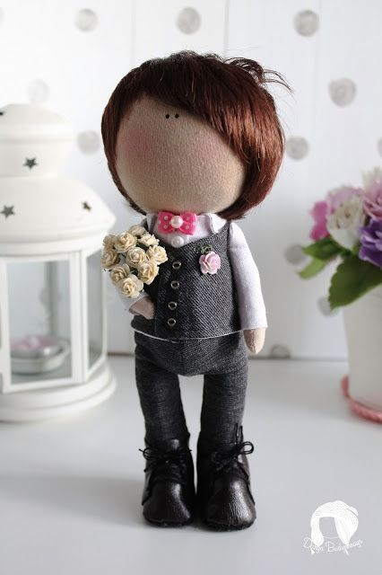 интерьерная кукла, кукла мальчик, ручная работа в алматы