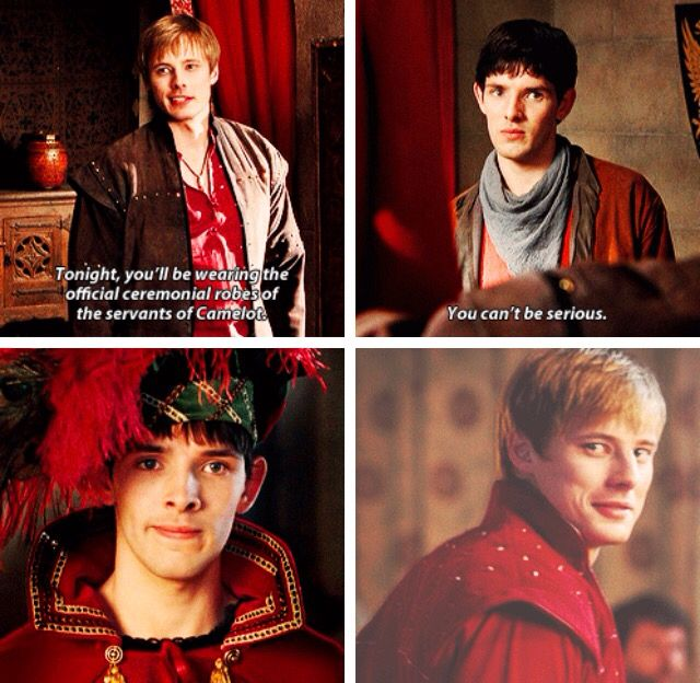 Arthur and Merlin. Merlin Season 1