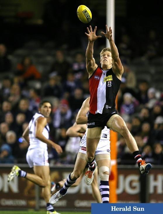 Rhys Stanley  | St Kilda defeats Fremantle