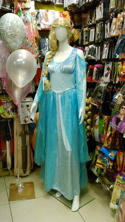 Find your inner princess with this Elsa inspired costume.
