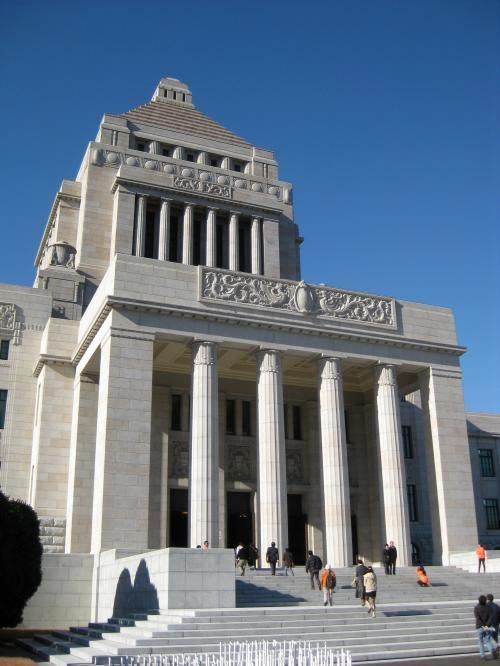 霞ヶ関のおすすめスポット 一度は生で見てみたい!国会議事堂