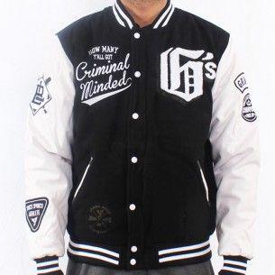 Grimey Slash & Burn Baseball Jacke Black - Grimey Wear Online Shop