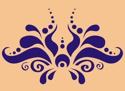Stencil For Paint : Flower Wall Stencil Airbrush Template Paint Home T Shirt Decor Tattoo ...