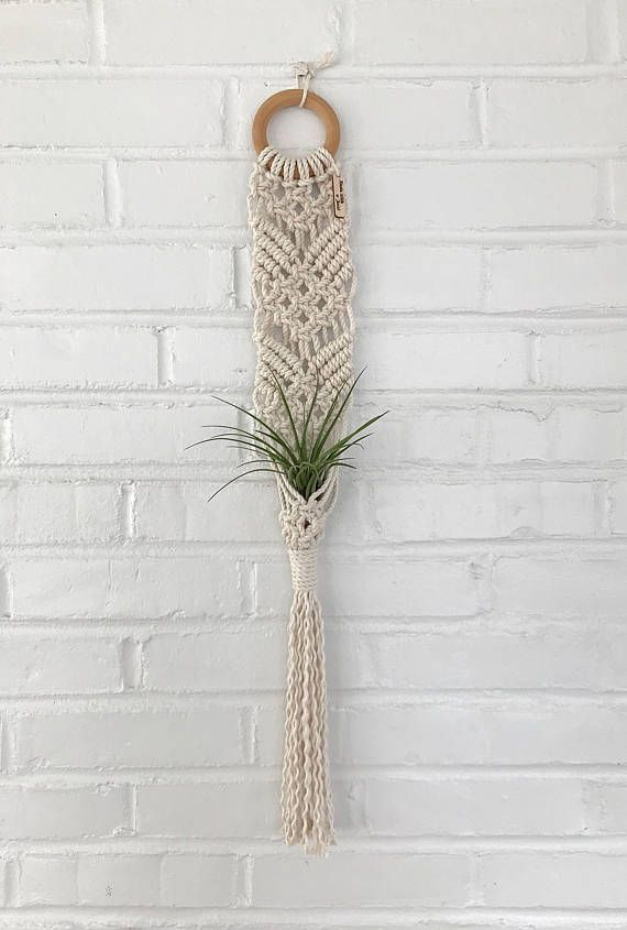 Macrame Rope Bulk Plant Hangers or Woven Wall Hangings 5mm Macrame Cord for Macrame Plant Holders Variegated Brown Air Plant Holders