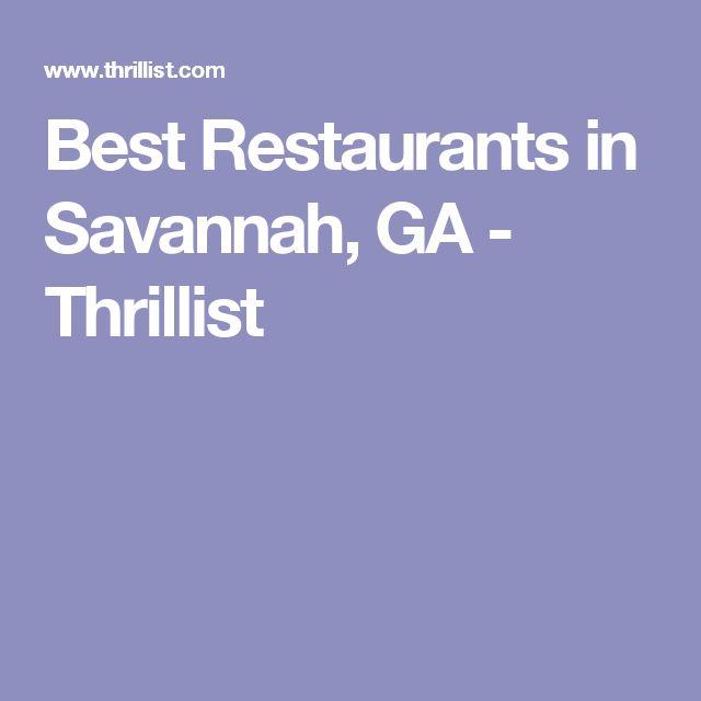 Best Restaurants in Savannah, GA - Thrillist