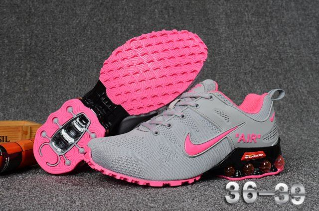9788ead83d0810 Nike Air Max 2018. 5 Flyknit women s Sneakers Running Shoes Grey Pink