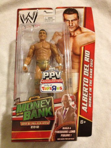 1 X Alberto Del Rio WWE Best of PPV 2012 Toys R Us Exclusive by Mattel