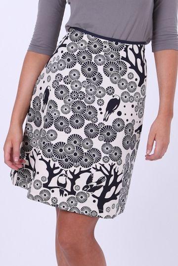 Essaye Mikko Aline Skirt - Womens Knee Length Skirts - Birdsnest Online Fashion