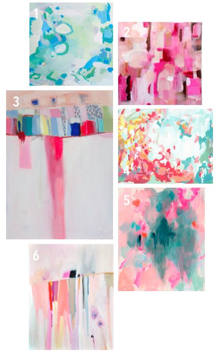 Affordable Etsy Abstract Art