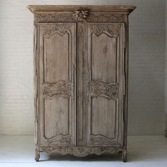 French Oak Armoire at Atchison Home - Atchison Home