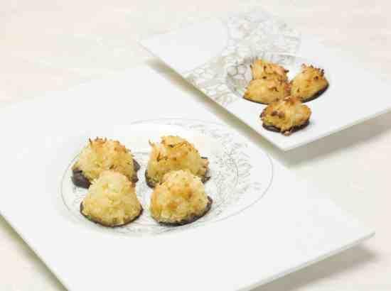 Macaroons with Bittersweet Chocolate #RudySodamin #Dessert