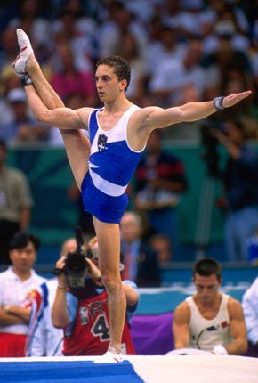 Ioannis Melissanidis, 1977-, is a retired #Greek artistic gymnast. He won the title of the 1996 #Olympic champion on floor exercise and was the first Greek gymnast ever to win a silver medal at the World Championships.