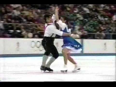 Duchesnay & Duchesnay (FRA) - 1992 Albertville, Ice Dancing, Original Dance