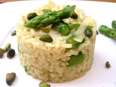 Risotto with Asperges