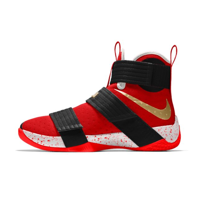 best service c6cc8 03a04 Nike Zoom LeBron Soldier 10 iD Men s Basketball Shoe   Nike Zoom LeBron  Soldier 10 iD Men`s Basketball Shoe Design in 2019   Pinterest   Nike  basketball ...