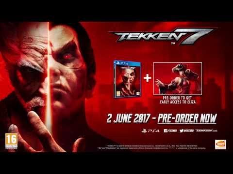 Mi Mundo Es Diferente Al Tuyo: TEKKEN 7 Trailer + Fecha de Lanzamiento PS4