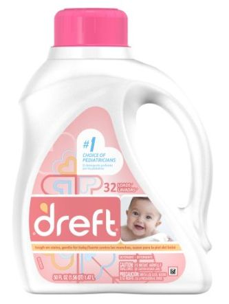 Dreft Baby Laundry Detergent - Gentle on a babies skin