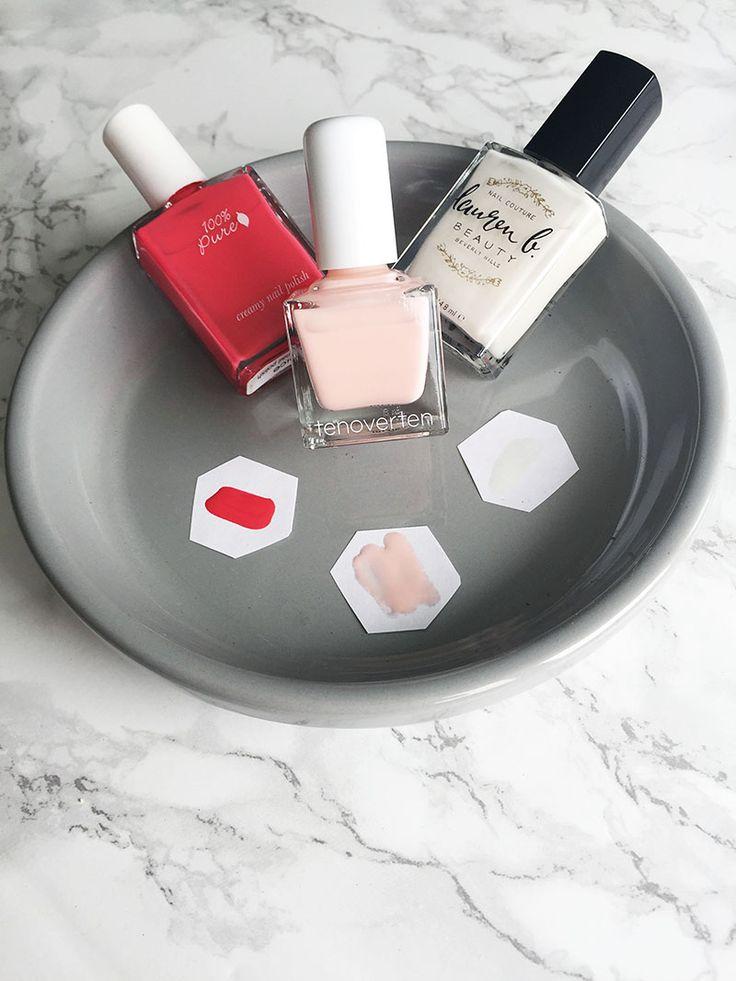 3 Healthy Nail Polishes Perfect for Summer from Lauren B. Beauty, 100% Pure and Tenoverten! | Beauty Bets