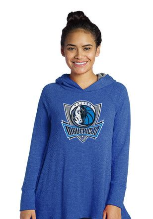 Dallas Mavericks Womens Blue Primary Hoodie