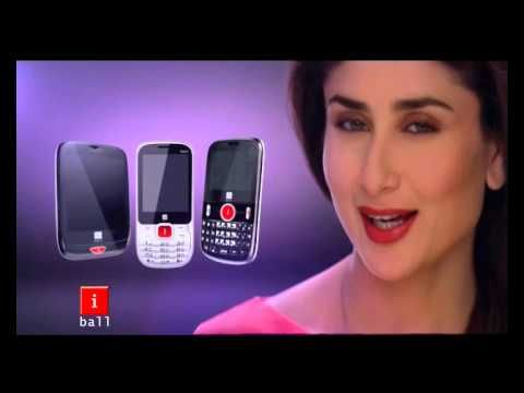 Say HELLO to iBall's latest television commercial, featuring the vivacious brand ambassador, actor Kareena Kapoor. Say HELLO to sleek phone designs, power-packed performances and solid features! It's the latest promotion by the homegrown electronic giant which builds the positivity of 'Hello' synonym with the pride of owning an iBall phone!    iBall phone pe pyara lagta hain Hello! What do you think of the spot, or its pretty ambassador? Tell us below!